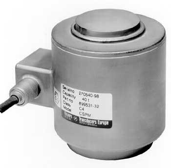 Cylindrisk tryckkraftgivare